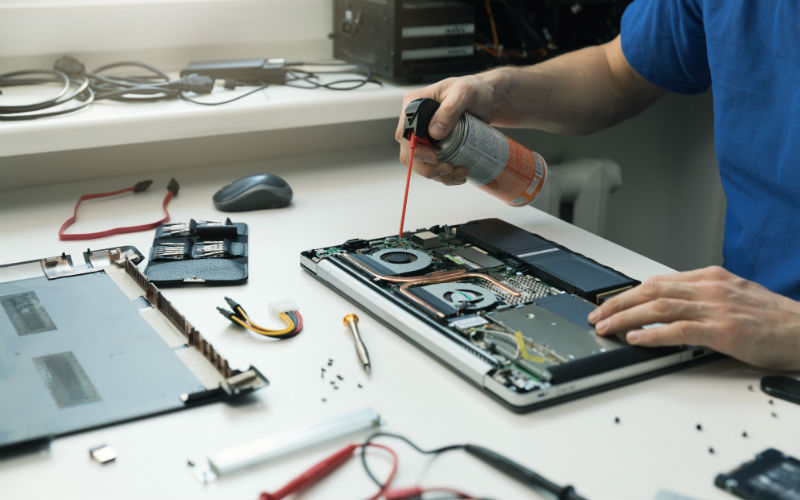 Services techniques en atelier ou à domicile
